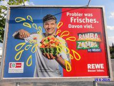 340. - Plakat in Stockach. / 19.06.2014./