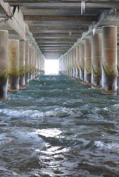 The Pier in Atlantic City (Technically our basement One Atlantic -Atlantic City, N.J.)