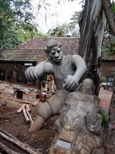 Woodcarving sculpture Nairobi