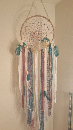 Beaded Tree Of Life Dream Catcher/Wall by PrettyThingz4UByMe