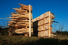 14 structures play with balance for hello wood 2014 in rural hungary