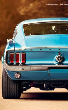 h-o-t-cars:    1967 Ford Mustang | Source