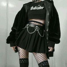 Eres tn smith eres una chica que se le murieron los padres y ahora vi… #detodo # De Todo # amreading # books # wattpad Egirl Fashion, Teen Fashion Outfits, Grunge Fashion, Korean Fashion, Fashion Looks, Bad Girl Outfits, Kawaii Fashion, Lolita Fashion, Fashion Women