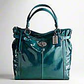 I'm a not a Coach fan, but teal patent leather makes me swoon.