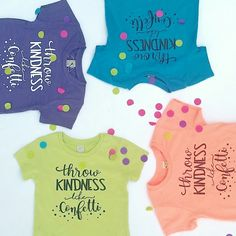 Throw kindness like confetti! ON SALE NOW!!!