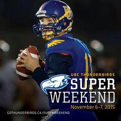 Contest! UBC Thunderbirds Super Weekend