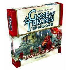 Take the obsession to the next level! A Game of Thrones card game!