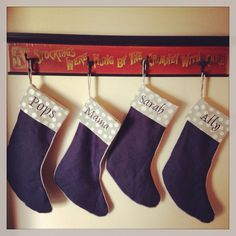 Christmas Stockings @Kimberley Christopher O'Rourke