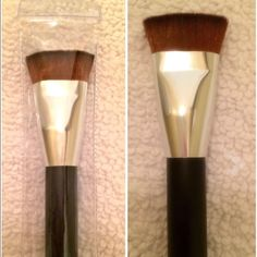 New Flat Contour Foundation Brush  Brand new and high quality. Soft and silky to the touch Bold handle for easy use Fullsize Flat Contour Foundation Brush Makeup Brushes & Tools