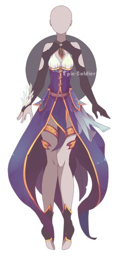 Outfit adoptable 52 (OPEN!!) by Epic-Soldier.deviantart.com on @DeviantArt