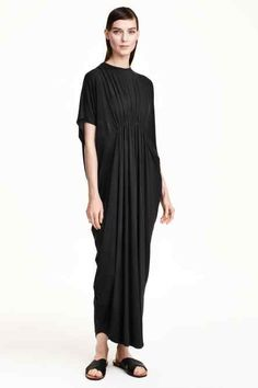 Dżersejowa sukienka maxi