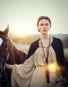 Frida Gustavsson by Boo George (A Soft Dynamic) - (June 2013) - June 2013 - Fashion Editorials - #Allaboufashion