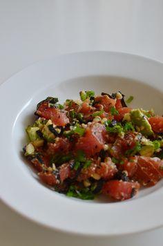 CAKIES  reader's recipes: tuna poke