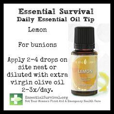 Use lemon for bunions. Kim Ayres #1529959