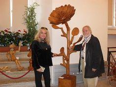 #FerdinandoCodognotto  #Carved Wooden Flower www.FerdinandoCodognotto.com