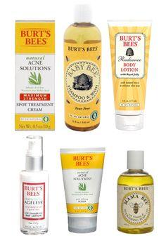 Birts Bees Products , Organic Beauty Products, Organic Creams, All Natural Beauty Creams,