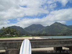 Hanalei Bay, Kauai: Our Hawaiian Surfing Adventures Experience #KauaiDiscovery #FamilyTravel
