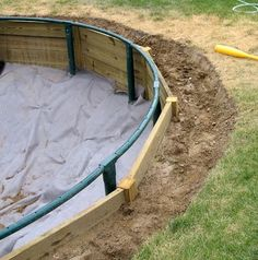 Crazily detailed instructions on how to build a sunken trampoline. Crazily detailed instructions on Sunken Trampoline, Best Trampoline, Backyard Trampoline, Backyard Playground, Backyard Toys, Backyard Landscaping, Small Backyard Pools, Trampolines, Outdoor Play