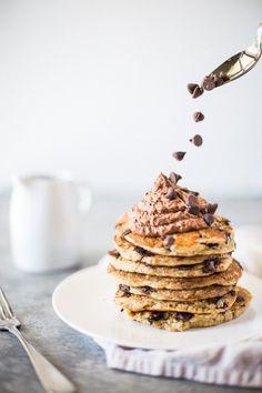 The BEST Oat Flour Sour Cream Pancakes   Sempre Dolce