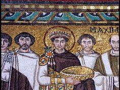 Smarthistory on San Vitale, Ravenna, Early Byzantine Europe. c. 526–547 C.E. Brick, marble, and stone veneer; mosaic.