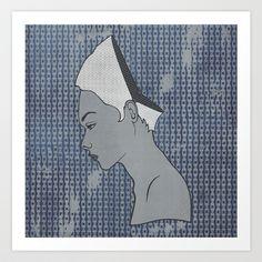 Can't Get No Retrospection (Redhead) Art Print by Summer Romasco - $25.00