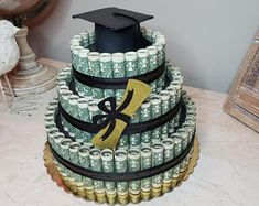 Birthday Money, Birthday Diy, Birthday Gifts, Birthday Cake, Birthday Ideas, Graduation Desserts, Graduation Gifts, Graduation Ideas, Creative Money Gifts