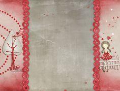 Rojo | Fondos para Blogger filigrana