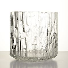 TAPIO WIRKKALA - Glass vase '3541' for Iittala, Finland. [h. 21 cm] Clear Glass, Glass Art, Recycled Glass, Finland, Home Accessories, Scandinavian, Bottles, Objects, Vase