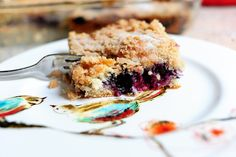 The Pioneer Woman's Blueberry Crumb Cake - this is the best!
