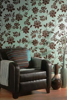 Flock Wallpaper Company - Wallpaper Gallery Flock Wallpaper, Wallpaper Gallery, Wallpaper Companies, Off The Wall, Beautiful Wall, Flocking, Old And New, Climbing, Paint Colors