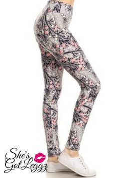 4f69cd7454a8ed Cherry Blossom #shesgotleggz #leggings #spring Leggings Depot, Gym Leggings,  Printed Leggings