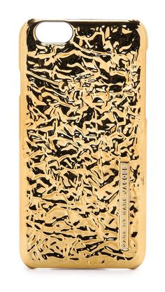 Marc by Marc Jacobs Gold Foil iPhone 6 Case available for $38.00