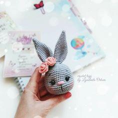 Mesmerizing Crochet an Amigurumi Rabbit Ideas. Lovely Crochet an Amigurumi Rabbit Ideas. Crochet Bunny Pattern, Crochet Rabbit, Crochet Patterns Amigurumi, Crochet Dolls, Amigurumi Doll, Diy Crochet And Knitting, Crochet Baby, Crochet Dragon, Stuffed Animal Patterns