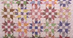 Don't Be Intimidated By The Little Pieces, This Studio Star Quilt Is So Easy!