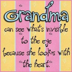 Being a grandmother is the best job anyone could ever, ever have!