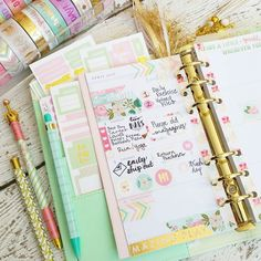 Another view of my week. Anyone else still swooning over the newest washi tape…