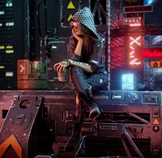 Cyberpunk Series This is my last work,Created in Coat,Marvelous designer and Max, rendering Corona Render Cyberpunk City, Cyberpunk 2077, Cyberpunk Kunst, Cyberpunk Aesthetic, Cyberpunk Fashion, Cyberpunk Tattoo, Neon Aesthetic, Cyberpunk Clothes, Aesthetic Photo