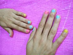 The Nails Trendy: Colorful nails  http://nailstrendy.blogspot.com.es/2014/05/colorful-nails.html