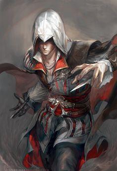 AC II: Ezio by Claparo-Sans on DeviantArt