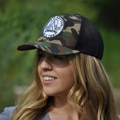 4b4828bd6c3 Life is Better in a Tent Trucker - Camo