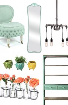 Let's run away for the weekend, to the city we love most. Here are our top choices for getting that irresistible urban charm, from industrial bookshelves to distressed mirrors. And for the dreamers who just can't get away, recast this look in your own home with all the right pieces.