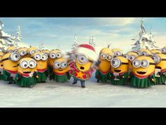 Minions Singing Jingle Bells - Merry Christmas Everybody! Amor Minions, Minions Love, Minions Despicable Me, Minions Quotes, Minions Cartoon, Merry Christmas Minions, Christmas 2014, Merry Xmas, Funny Christmas
