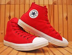67bab9026f2 Converse All Star Chuck Taylor II High Size 13 - Red White - 150145C