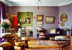 Dreams in HD: Interiors :: Parisian Apartments