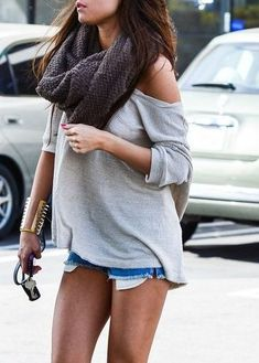 Though I do like this...what kind of weather exactly would you wear this for...?