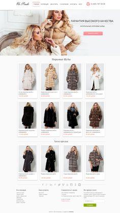 Pro našeho ruského partnera jsme vytvořili webové stránky včetně loga na distribuci a prodej norkových kožichů.  Více na http://www.furmonde.ru/