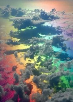 Being Above The Rainbow!