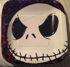 The Nightmare Before Christmas Jack Skellington 16 Guest Birthday Party Lunch Plates & Nightmare Before Christmas Party favor Goody Bags by JaysFunShop ...