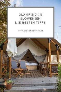 Glamping in Slovenia – the most beautiful places to stay - Famous Last Words Bell Tent Camping, Camping Glamping, Rafting, Shower Tent, Jacuzzi Outdoor, Small Backyard Pools, Reisen In Europa, Camping Lanterns, Dream Pools