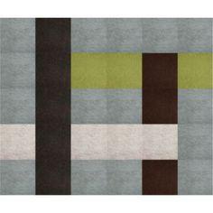 FLOR Fedora rug tiles